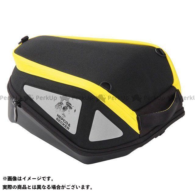 HEPCO&BECKER 汎用 ツーリング用バッグ タンクバック 「ROYSTER/ロイスター」 カラー:ブラック/イエロー ヘプコアンドベッカー