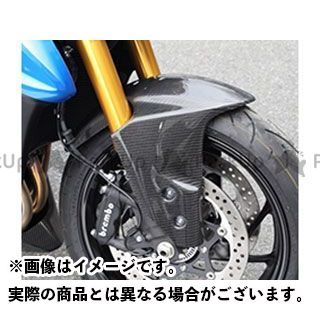 【特価品】Magical Racing GSX-S1000 フェンダー フロントフェンダー(フォークガード一体式) 材質:綾織りカーボン製 マジカルレーシング