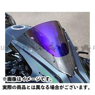 Magical Racing ニンジャH2(カーボン) スクリーン関連パーツ カーボントリムスクリーン 綾織りカーボン製 クリア