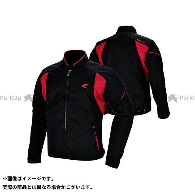 アールエスタイチ ジャケット RSJ317 クルーメッシュジャケット カラー:ブラック/レッド サイズ:M RSタイチ