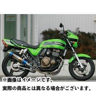 STRIKER ZRX400 ZRX400- マフラー本体 STREET CONCEPT 手曲げタイプ チタンフルエキゾースト チタン ストライカー