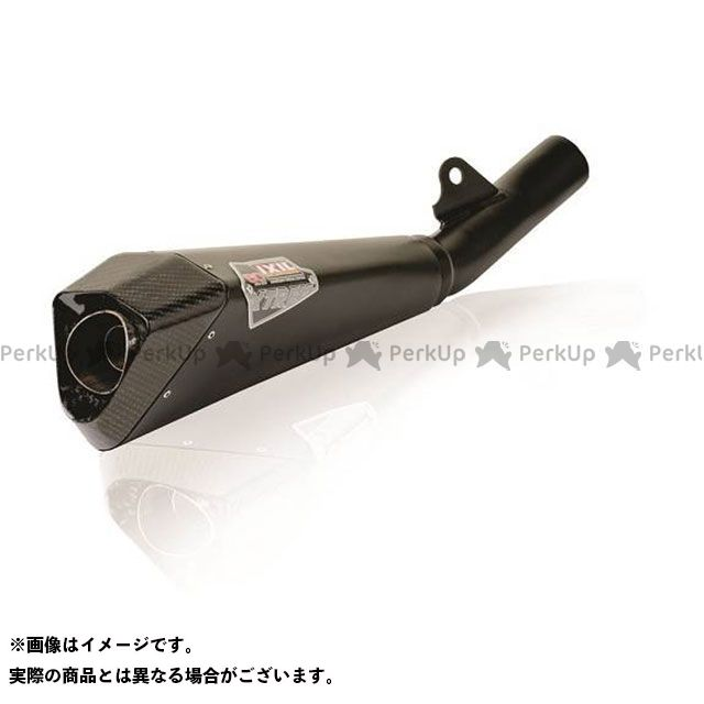 IXIL Z750S マフラー本体 KAWASAKI Z750 S/R (07-12) ZR750L SLIP ON マフラータイプ:X55C-スラッシュ コーンタイプ イクシル