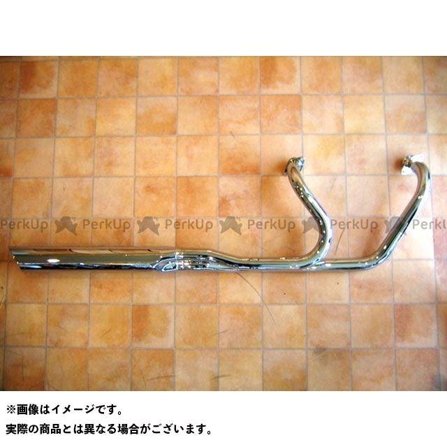KENTEC マフラー本体 ソフテイル ローライダー2IN1マフラー90φ 年式:TWINCAM(Fl/2012~) ケンテック