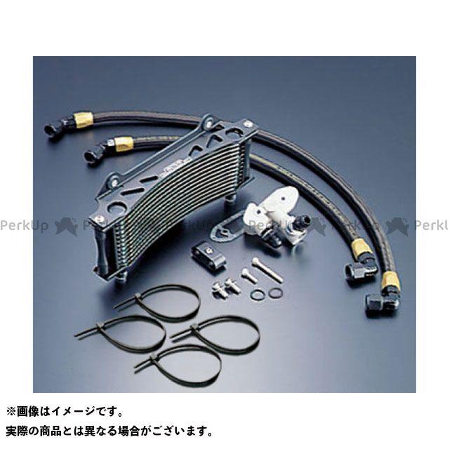 アクティブ ACTIVE オイルクーラー 冷却系 ACTIVE GSX1100Sカタナ オイルクーラー オイルクーラーキット(サイド廻し) ラウンド #8 9-10R サーモ対応キット ブラック アクティブ