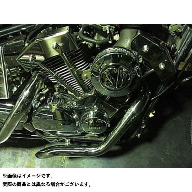 ブヒンヤケーアンドダブリュー ドラッグスター250(DS250) ドレスアップ・カバー DS250用ダミープッシュロッドカバーKIT