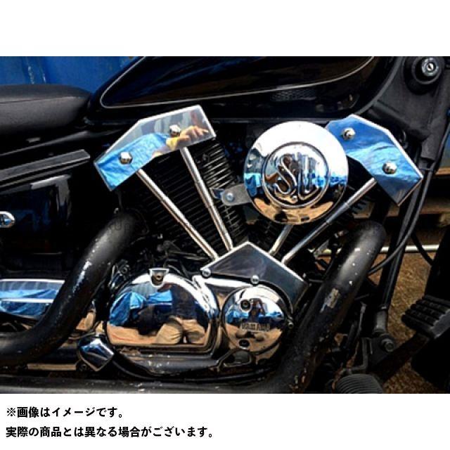 ブヒンヤケーアンドダブリュー ドラッグスター250(DS250) ドレスアップ・カバー DS250用ダミープッシュロッドカバーKIT(ノーマルタンク用)