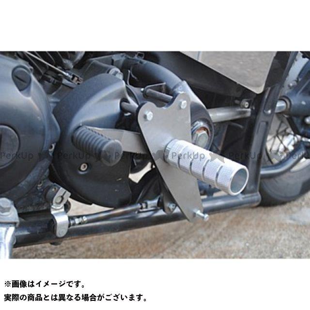 ブヒンヤケーアンドダブリュー ドラッグスター400(DS4) フォワードコントロールキット DS400用ボルトオンミッドコントロールキット  部品屋K&W