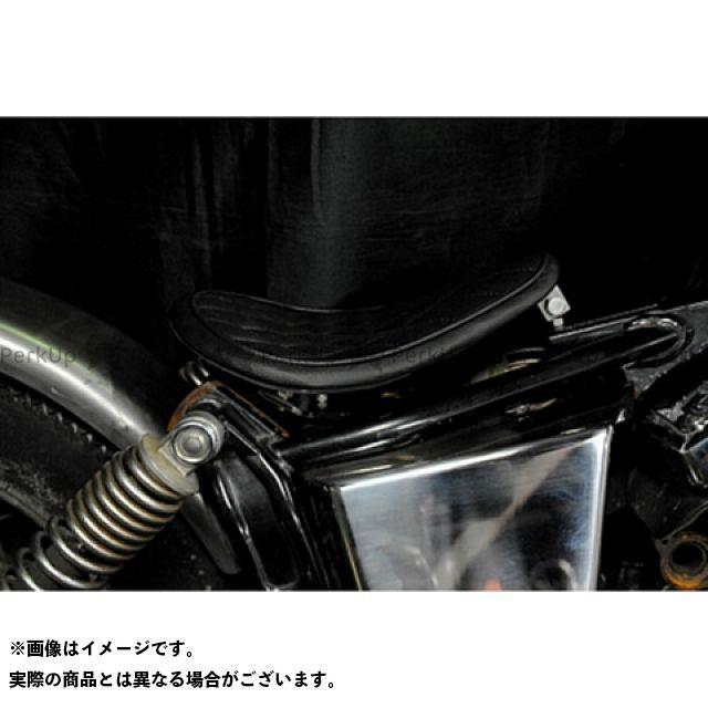 【エントリーで更にP5倍】ブヒンヤケーアンドダブリュー ドラッグスター250(DS250) ドラッグスター400(DS4) シート関連パーツ 専用ソロシートKIT リジットタイプ(ステッチ) 車種:DS400 タイプ:ダイヤ カラー:黒 部品屋K&W