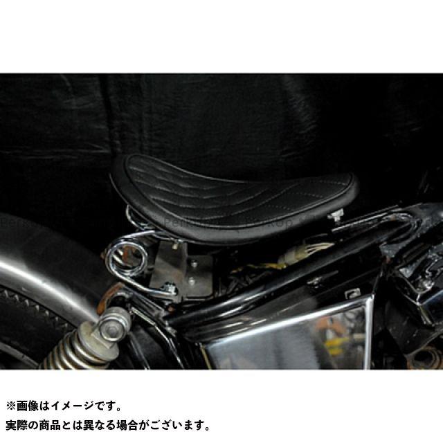 【エントリーで更にP5倍】ブヒンヤケーアンドダブリュー ドラッグスター250(DS250) ドラッグスター400(DS4) シート関連パーツ 専用ソロシートKIT スプリングタイプ(ステッチ) 車種:DS400 タイプ:ダイヤ カラー:白 部品屋K&W