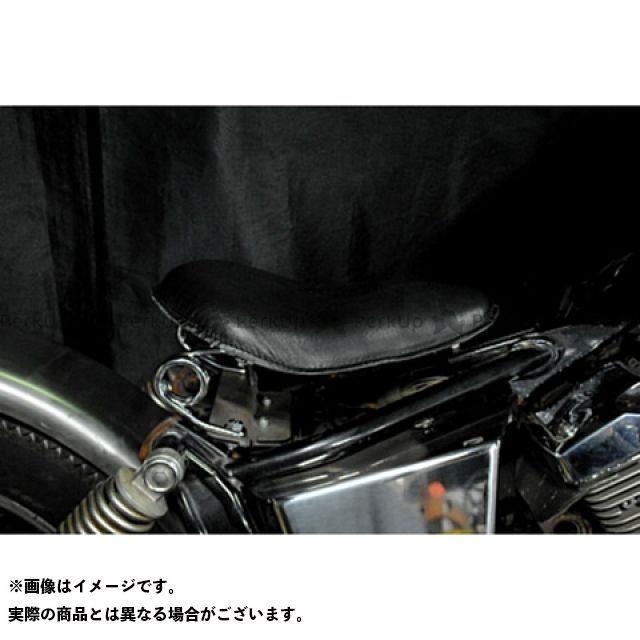 ブヒンヤケーアンドダブリュー ドラッグスター250(DS250) ドラッグスター400(DS4) シート関連パーツ 専用ソロシートKIT スプリングタイプ(本革サドルシート) DS400 黒