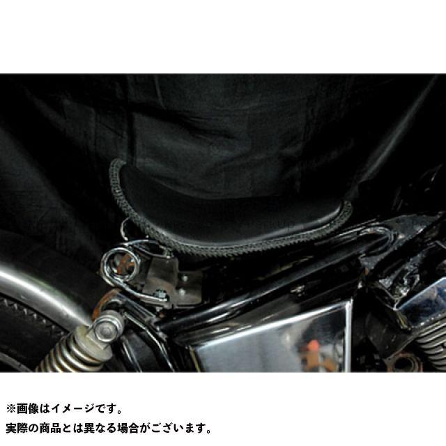 ブヒンヤケーアンドダブリュー ドラッグスター250(DS250) ドラッグスター400(DS4) シート関連パーツ 専用ソロシートKIT スプリングタイプ(本革レース編み込みサドルシート) 車種:DS250 カラー:黒 部品屋K&W