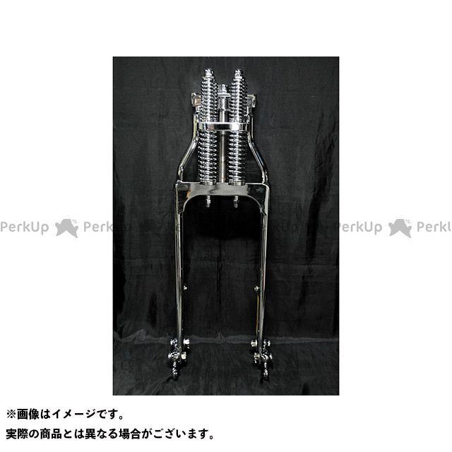 ブヒンヤケーアンドダブリュー グラストラッカー フロントフォーク グラストラッカー用スプリンガーフォークKIT メッキ 部品屋K&W