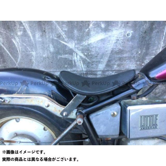 ブヒンヤケーアンドダブリュー ジャズ シート関連パーツ JAZZ50用ソロシートKIT(プレーン) 赤茶 部品屋K&W