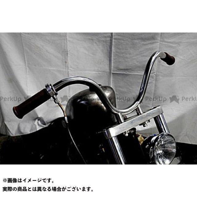 ブヒンヤケーアンドダブリュー 250TR ハンドル関連パーツ SO-CALバー 仕様:ステンレスポリッシュ 部品屋K&W