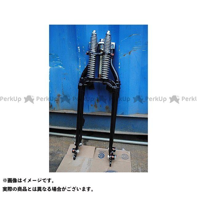 ブヒンヤケーアンドダブリュー TW225 フロントフォーク TW用74スプリンガーフォークKIT ブラック