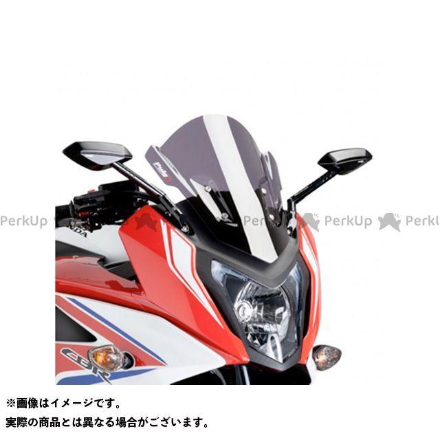 【エントリーで更にP5倍】Puig CBR650F スクリーン関連パーツ レーシングスクリーン カラー:ダークスモーク プーチ