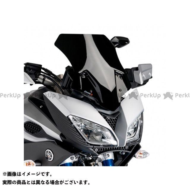 Puig トレーサー900・MT-09トレーサー スクリーン関連パーツ レーシングスクリーン ブラック
