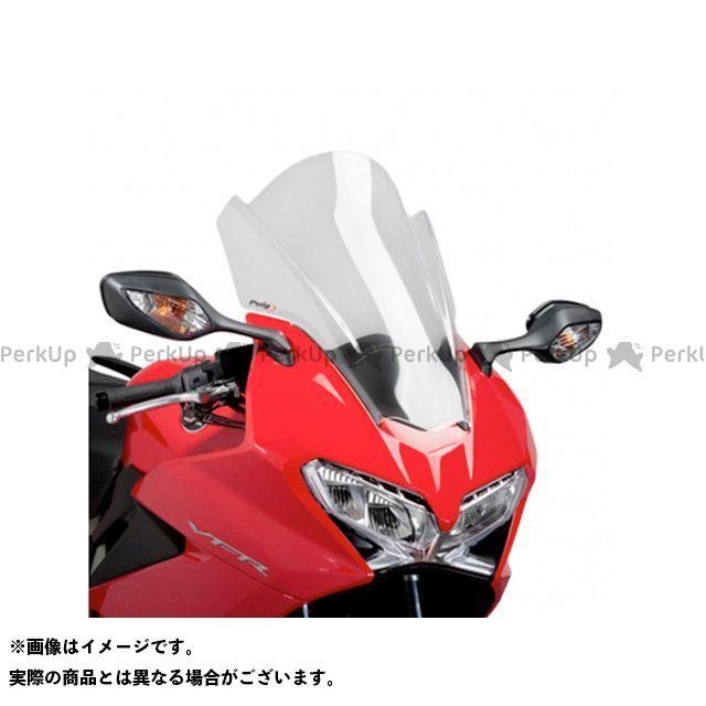 【エントリーで更にP5倍】Puig VFR800F スクリーン関連パーツ ツーリングスクリーン カラー:クリア プーチ