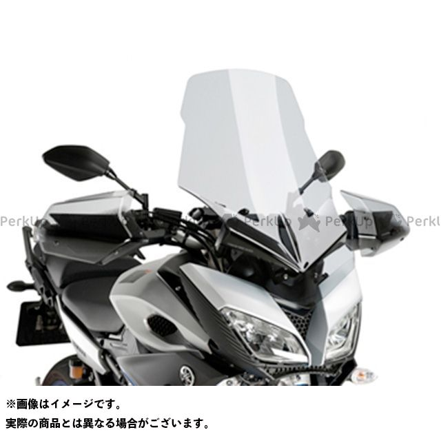 【エントリーで更にP5倍】Puig トレーサー900・MT-09トレーサー スクリーン関連パーツ ツーリングスクリーン カラー:クリア プーチ