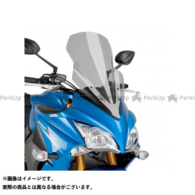 【エントリーでポイント10倍】 プーチ GSX-S1000F スクリーン関連パーツ ツーリングスクリーン スモーク