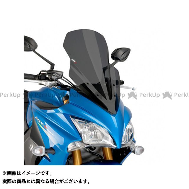 【エントリーでポイント10倍】 プーチ GSX-S1000F スクリーン関連パーツ ツーリングスクリーン ダークスモーク