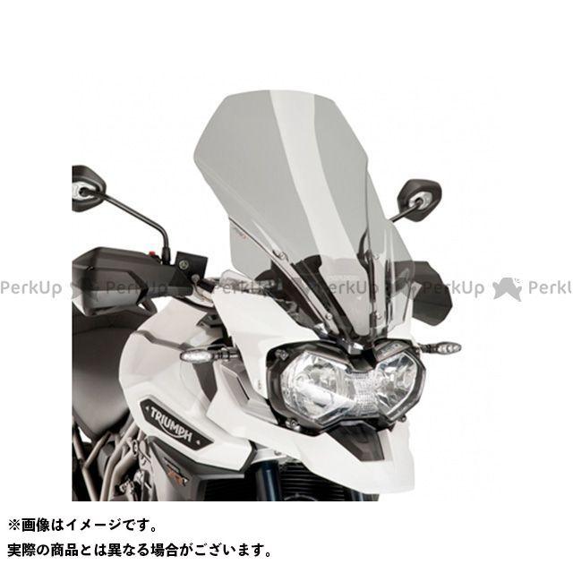 【エントリーでポイント10倍】 プーチ タイガーエクスプローラー スクリーン関連パーツ ツーリングスクリーン スモーク