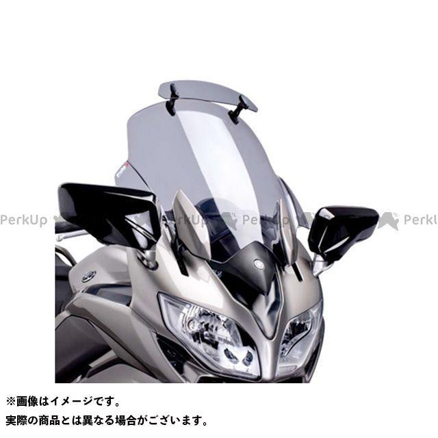 【エントリーでポイント10倍】 プーチ FJR1300AS/A スクリーン関連パーツ ツーリングスクリーン バイザー付(スモーク)