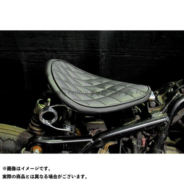 ブヒンヤケーアンドダブリュー エストレヤ シート関連パーツ 専用ソロシートKIT スプリングタイプ(ステッチ) ダイヤ 黒