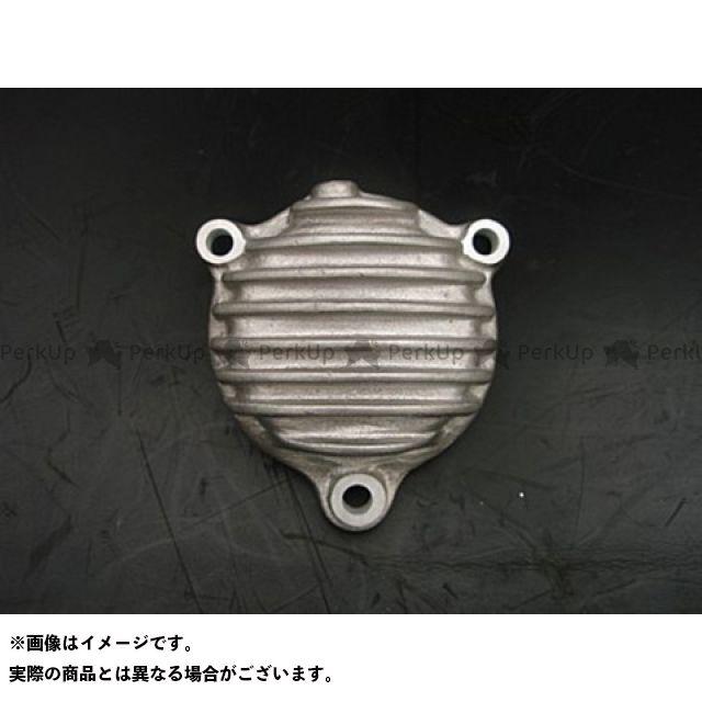 ブヒンヤケーアンドダブリュー SR400 SR500 エンジンカバー関連パーツ リブ付きオイルフィルターカバー 部品屋K&W
