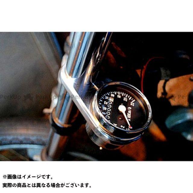 【エントリーで最大P23倍】ブヒンヤケーアンドダブリュー SR400 SR500 ハンドル周辺パーツ メータークランプKIT 内容:メータークランプ単品 クランプサイズ:φ35 部品屋K&W