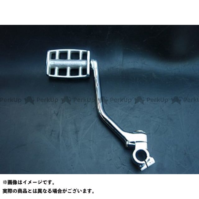 【無料雑誌付き】ブヒンヤケーアンドダブリュー SR400 SR500 ステップ キックペダルキット アルミ・ブラス(真鍮) 仕様:アルミ 部品屋K&W