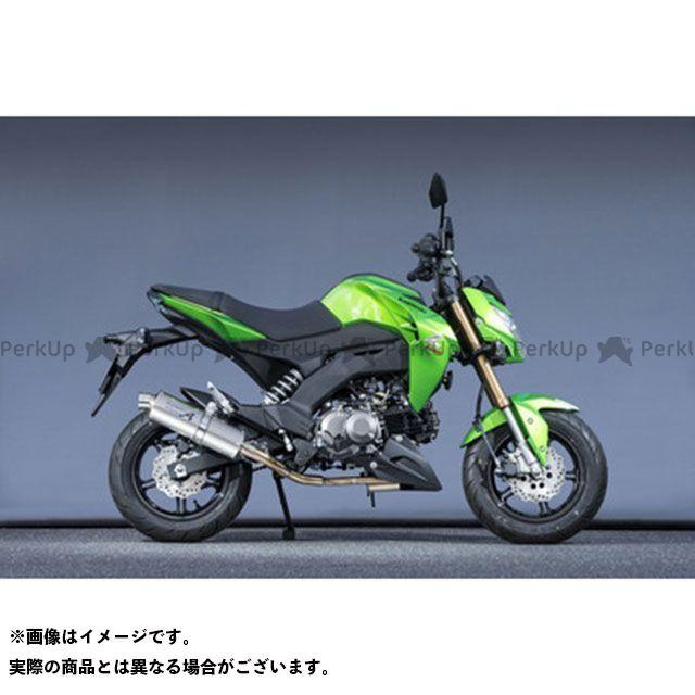 YAMAMOTO RACING Z125プロ マフラー本体 Z125 PRO SUS UP チタン ヤマモトレーシング