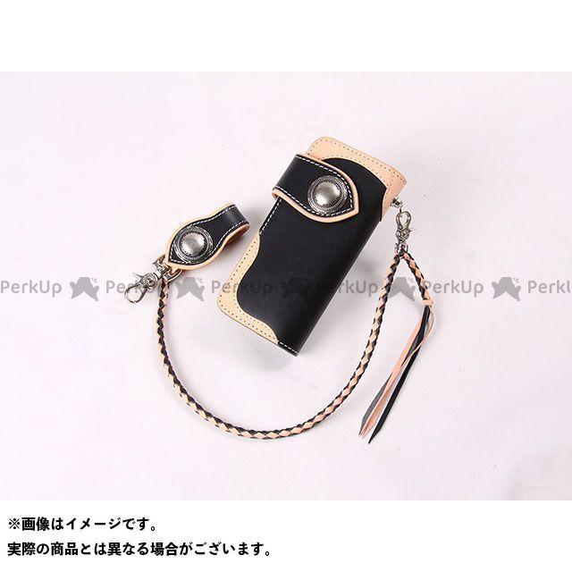 デグナー 財布 W-90 レザーウォレット カラー:ブラック/タン DEGNER