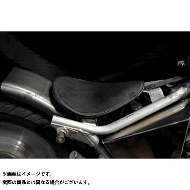 ブヒンヤケーアンドダブリュー Vツインマグナ シート関連パーツ Magna250用 専用ソロシートKIT リジットタイプ(プレーン) カラー:黒 部品屋K&W
