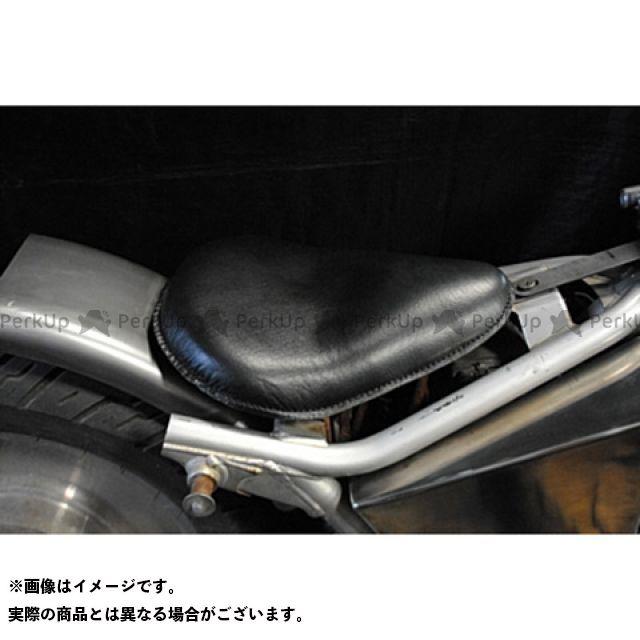 【エントリーで更にP5倍】ブヒンヤケーアンドダブリュー Vツインマグナ シート関連パーツ Magna250用 専用ソロシートKIT リジットタイプ(本革サドルシート) カラー:黒 部品屋K&W