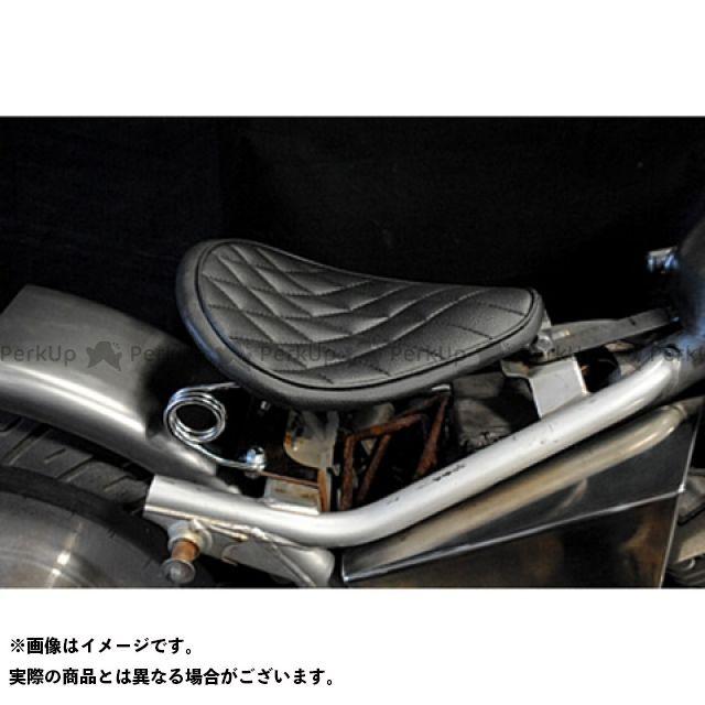【無料雑誌付き】ブヒンヤケーアンドダブリュー Vツインマグナ シート関連パーツ Magna250用 専用ソロシートKIT スプリングタイプ(ステッチ) タイプ:ダイヤ カラー:黒 部品屋K&W