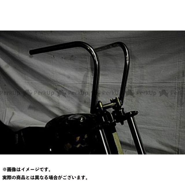【エントリーで更にP5倍】ブヒンヤケーアンドダブリュー ビラーゴ250(XV250ビラーゴ) ハンドル関連パーツ ラビットバーナロータイプ 仕様:鉄製表面処理無し 部品屋K&W
