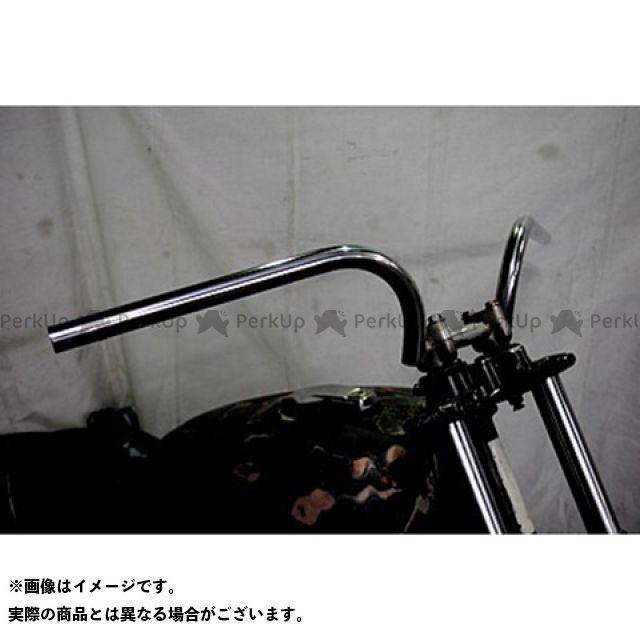 【エントリーで更にP5倍】ブヒンヤケーアンドダブリュー ビラーゴ250(XV250ビラーゴ) ハンドル関連パーツ ラビットバーワイドタイプ 仕様:鉄製表面処理無し 部品屋K&W