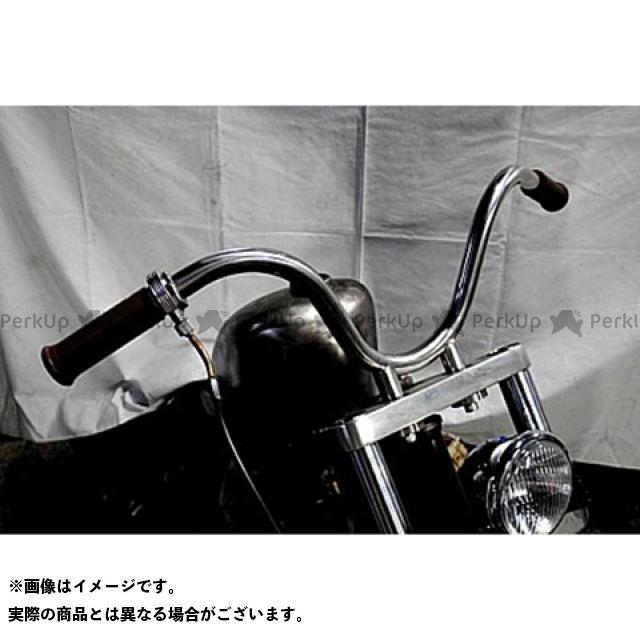 ブヒンヤケーアンドダブリュー ビラーゴ250(XV250ビラーゴ) ハンドル関連パーツ SO-CALバー 仕様:黒 部品屋K&W