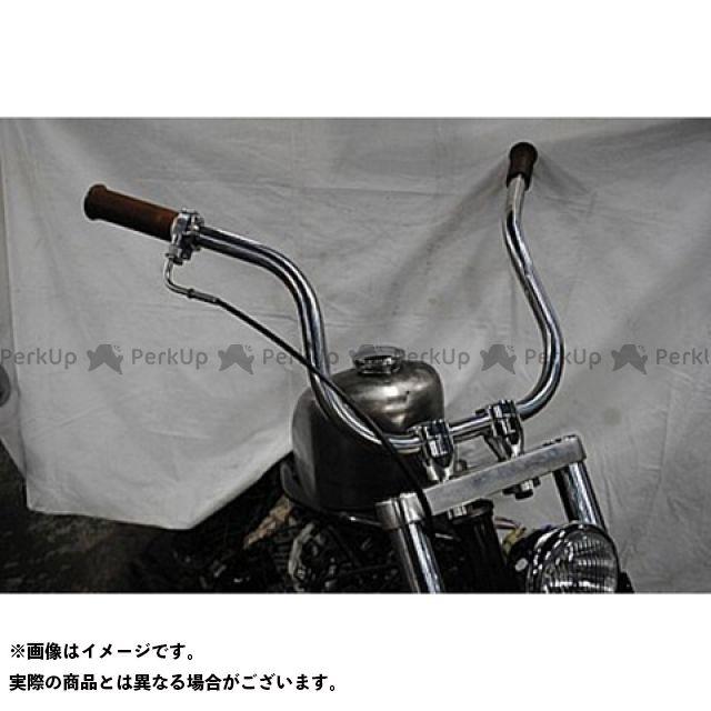 ブヒンヤケーアンドダブリュー ビラーゴ250(XV250ビラーゴ) ハンドル関連パーツ ミッフィーバー 仕様:ステンレスポリッシュ 部品屋K&W