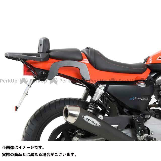 送料無料 HEPCO&BECKER スポーツスター XR1200 キャリア・サポート サイドソフトケースホルダー(キャリア)「C-Bow」(ブラック)