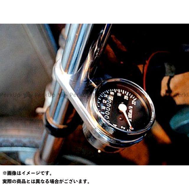 ブヒンヤケーアンドダブリュー スティード400 ハンドル周辺パーツ メータークランプKIT 内容:メータークランプ+ケーブル クランプサイズ:φ35 部品屋K&W