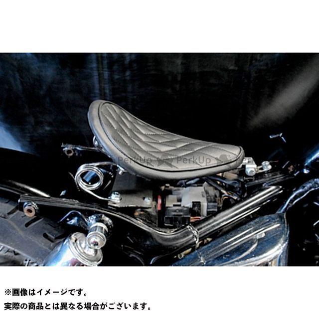 【エントリーで更にP5倍】ブヒンヤケーアンドダブリュー シャドウ400 シート関連パーツ SHADOW専用ソロシートKIT スプリングタイプ(ステッチ) タイプ:ダイヤ カラー:黒 部品屋K&W