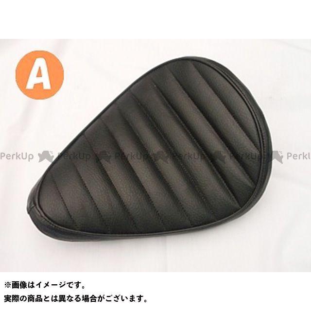 ブヒンヤケーアンドダブリュー シャドウスラッシャー シート関連パーツ SHADOW SLASHER専用ソロシートKIT スプリングタイプ(ステッチ) タイプ:Aタイプ カラー:黒 部品屋K&W