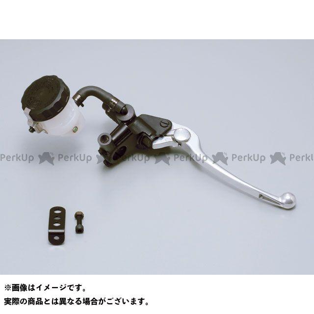 DAYTONA 汎用 マスターシリンダー NISSIN ブレーキマスターシリンダーキット(横型/タンク別体式) 14mm 本体カラー:ブラック レバーカラー:バフクリアー デイトナ