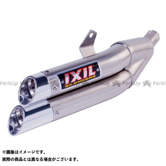 IXIL MT-07 マフラー本体 ヤマハ MT07 14 FULL LINE フルライン マフラータイプ:L3X-デュアル ラウンドタイプ フルエキ イクシル