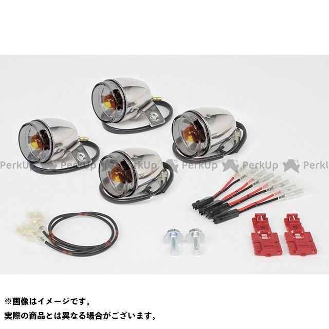 送料無料 TAKEGAWA モンキー ウインカー関連パーツ ミニブレイズウインカーキット(ステンレスボディ) スモーク