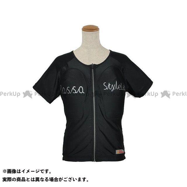 ロッソスタイルラボ カジュアルウェア ROPRO-09 レディースプロテクションTシャツ カラー:ブラック サイズ:L RossoStyleLab