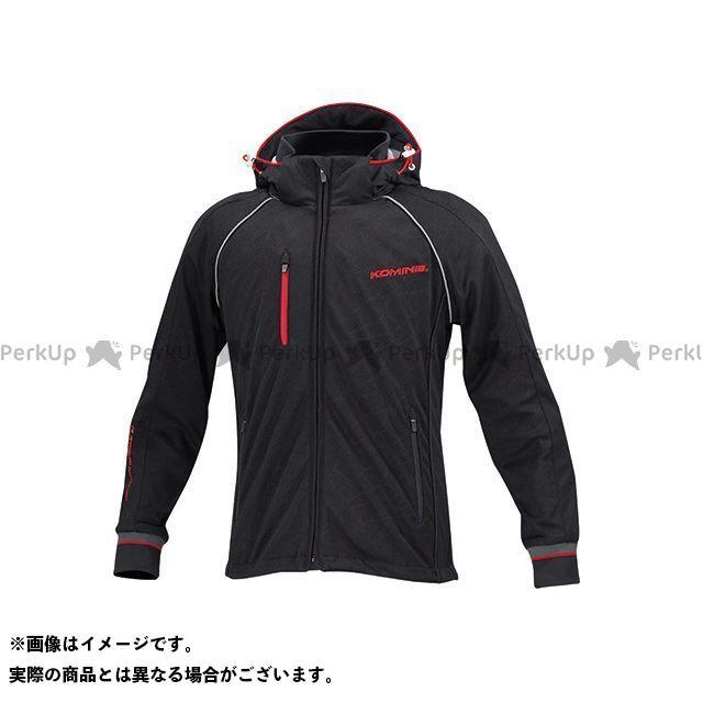 KOMINE カジュアルウェア JK-113 スムースメッシュジャージパーカ-ザネ カラー:ブラック サイズ:2XL コミネ