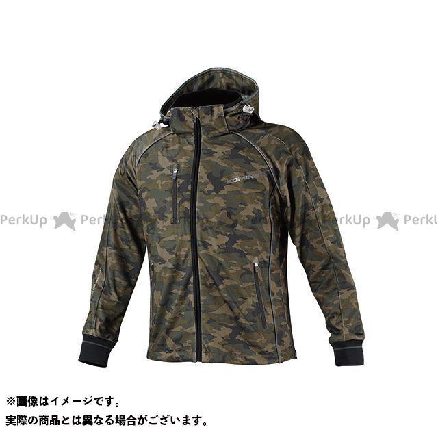 送料無料 コミネ KOMINE カジュアルウェア JK-113 スムースメッシュジャージパーカ-ザネ カモフラージュ M